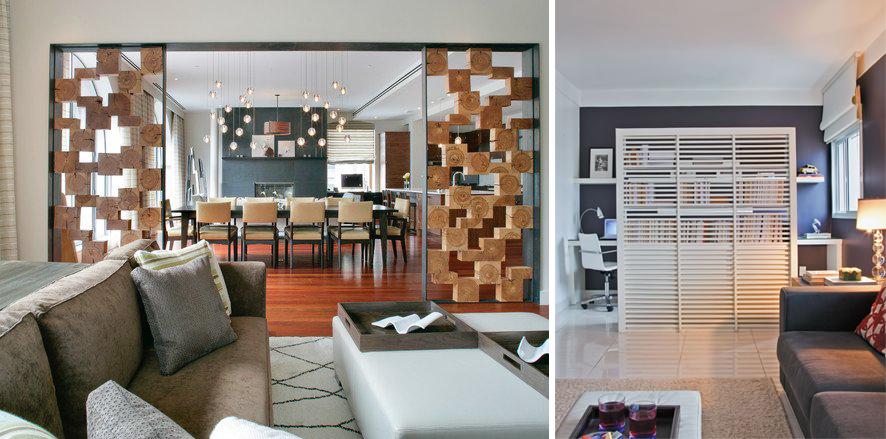 Elementos vazados casa cotidiana for Dividir ambientes