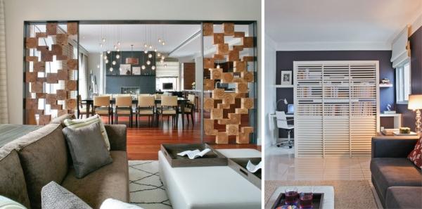 Elementos vazados casa cotidiana - Dividir ambientes ...