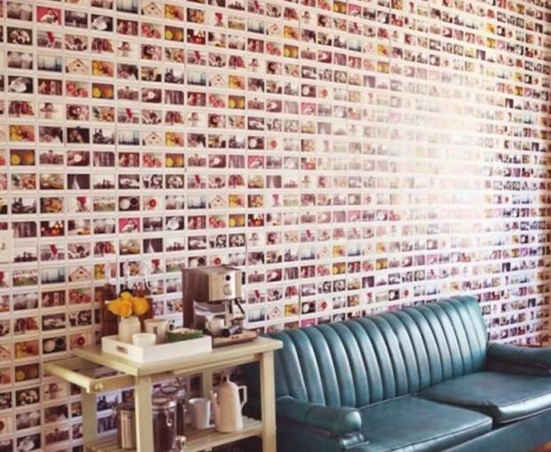 Se você não sai de casa sem uma câmera e gosta de registrar cada momento para a posteridade, pegue essas fotos todas e monte sua parede com ela