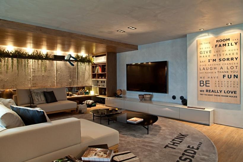 Sala de TV, qual tamanho escolher